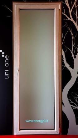 Finestre in legno alluminio energy3 energy3 - Porta finestra legno ...