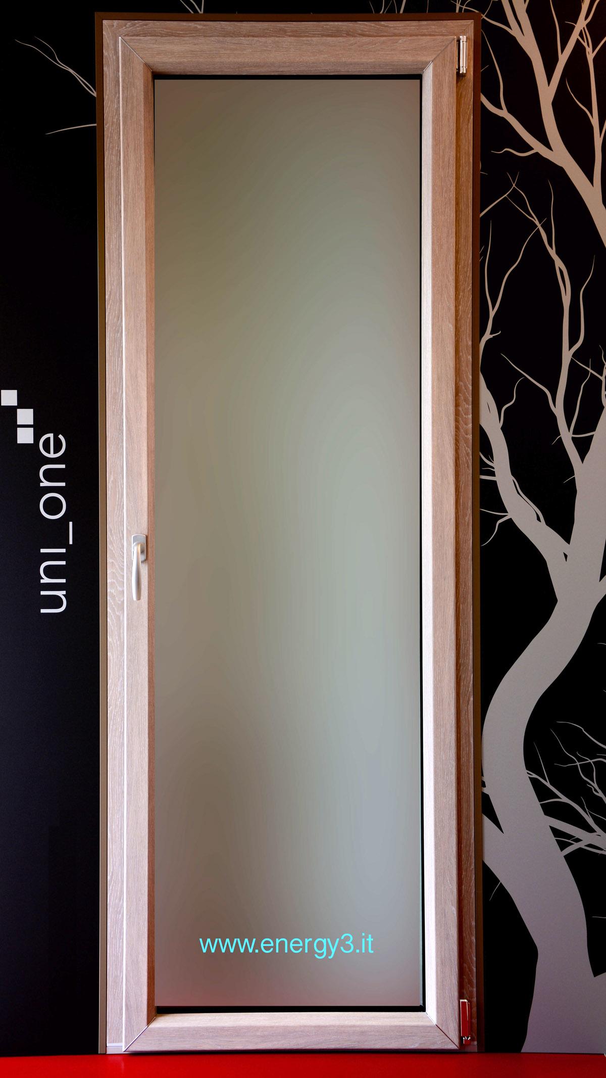 Finestre in legno alluminio energy3 energy3 - Porta finestra alluminio ...