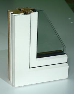 Parte interna sezione finestra
